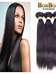 1pcs/lot Indian Virgin Human Hair Weaving Straight Wave
