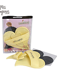 MISS GORGEOUS Exfoliator Skin Smooth Legs Sheer Painless Hair Removal Pads Legs Hand Hair Away Painless
