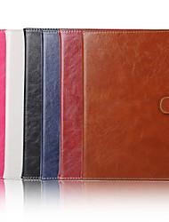 7,9 pouces motif de couleur solide de haute qualité pu étui en cuir pour ipad mini-4