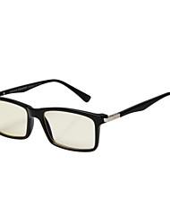 [lentes libres] gafas de ordenador rectángulo de etilo / plástico clásico lleno-borde unisex 's / moda