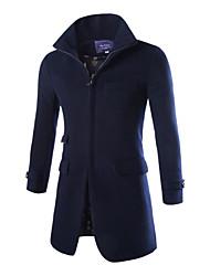 Men's Zipper Warm Down Sweater Coat