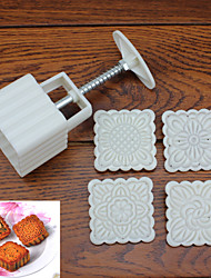 Moon Cake Mold Baking Mold Tool Set