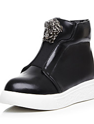 Women's Shoes Platform Round Toe/Closed Toe Boots