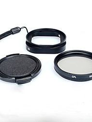 KingMa Camera Adapter Ring + 52 mm CPL Filter Polarizer Lens + Lens Cover Cap for Gopro 4 Session