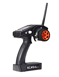 RadioLink 2.4G 4CH Gyro RC4G Transmitter With R4EH-G Receiver for Car and Boat