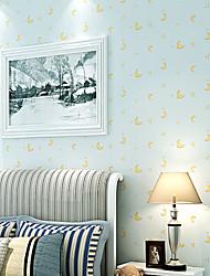 contemporary art deco papel de parede 3d parede bonito papel de parede Lua cobrindo arte não-tecidos da parede da tela