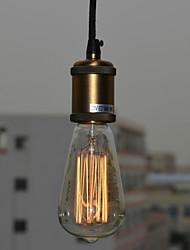 MAX:60W Lampe suspendue ,  Rustique Peintures Fonctionnalité for Style mini MétalSalle de séjour / Bureau/Bureau de maison / chambre