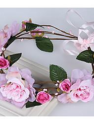 The New Bride Flower Hair Simulation Elegant Flower Headband