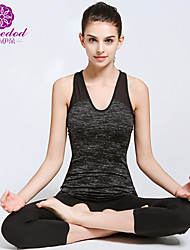 SMOEDOD® Yoga Suits Yoga Pants/Yoga Leggings + Yoga Tank/Yoga Top Shaper Wear/Breathable/ Lightweight Stretchy Sports Wear Yoga/Pilates/Fitness Suits