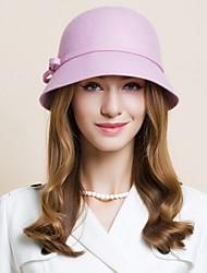 Женский Шерсть Заставка-Свадьба Особые случаи На каждый день Для деловой одежды на открытом воздухе Шапки 1 шт.
