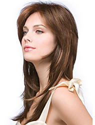 New Fashion Lady Popularnylon High Temperature Silk long Straight Hair Wig Can Be Very Hot Can Be Dyed Color Picture