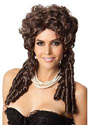Горячая высокой моды фестиваль парик природные коричневые локоны