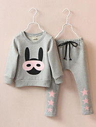 Kid's Suit , Cotton Casual / Print / Cute CANDY