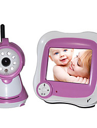 "IP Camera for baby room Night Vision 3.5"" LCD (1/3 Inch CMOS 380TV Line)"
