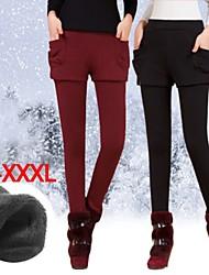 Plus Size (M/L/XL/XXL/XXXL) VICONE  Women's Sexy Warm Villus Long Pants