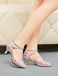 Chaussures de danse(Rose Or) -Non PersonnalisablesCuir-Moderne