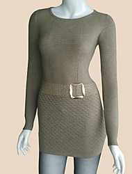2015 Autumn Winter New Arrivals Women Sweater Dress Women Pullover Cashmere Slim Fit Sweater Women Pullovers
