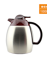 The May Flower Pot Insulation Vacuum Stainless Steel Thermos Kettle 1.0L