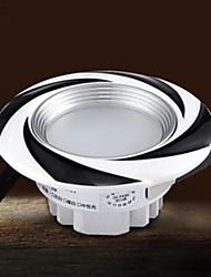 3W Downlight de LED 6 LED Integrado 100 lm Branco Quente / Branco Frio Decorativa AC 85-265 V 1 pç