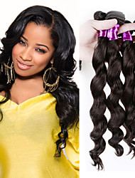 Top Quality Loose Wave Brazilian Virgin Human Hair Extension 10-28 Inch in Stock
