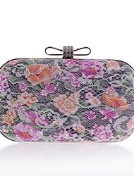 L.WEST® Women's Luxury Lace Flower Party/Evening Bag
