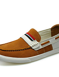 Men's Shoes Office & Career / Athletic / Casual Suede Boat Shoes Blue / Brown / Gray