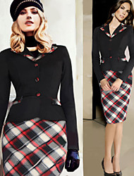 Dolce Women's Vintage/Sexy/Bodycon/Casual/Party 1950S Pencil Dresses
