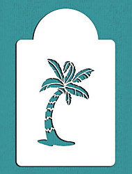 Palm Tree Cake Stencil, Summer Style Cake Top Stencil, Cake Craft Stencils,ST-119