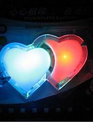 à double amour coloré lumières de LED nuit