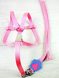 Dog Harness / Slip Lead Cosplay / Strap Red / Black / Pink / Yellow / Purple Nylon
