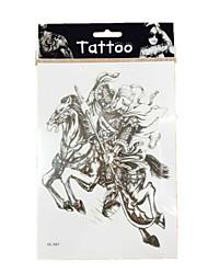 10/PCS New waterproof image of guan yu tattoos sexy body art removable tattoos  WST-43