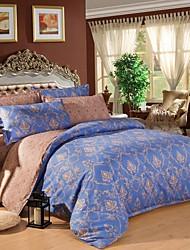 moda jiajia impresión de cuatro piezas traje de ropa de cama