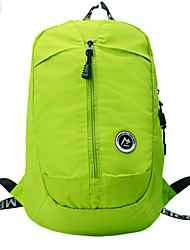 Men Nylon Baguette Backpack - Blue / Green / Black