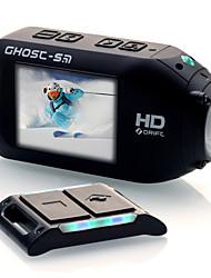 1080p wifi 64g l'action extérieure de la caméra vidéo de Ghost foream