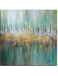moderne abstracte hand geschilderd olieverf op doek