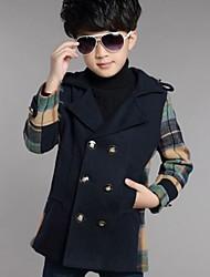 Boy's Polyester Jacket & Coat , Winter / Spring / Fall Long Sleeve
