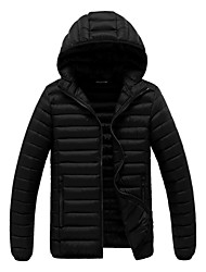 Winter cotton-padded clothes young men hooded cotton-padded jacket coat with thick cotton-padded clothes