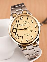 w&reloj de la pulsera del diamante h moda