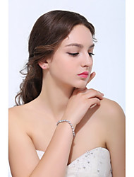 Women's Tennis Bracelet Silver / Alloy Crystal / Rhinestone / Cubic Zirconia