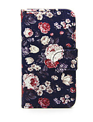 For Nokia Case Wallet / Card Holder / with Stand Case Full Body Case Flower Hard PU Leather Nokia Nokia Lumia 630