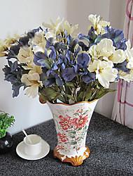 Soie / Plastique Lis Fleurs artificielles