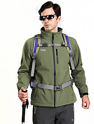 Extérieur respirant Toison Soft Shell Camping Veste MAKINO hommes