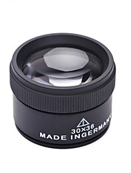 German Zeiss 30x Magnifying Loupe 30x36mm Jade Jewelry Appraisal Magnifier Crafts