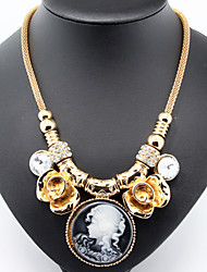 Maria Cordero Pendant Golden Chain Necklace