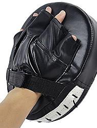 Boxe e Artes Marciais Pad Manopla de Boxe Luva Almofadada de Treino Sanda Boxe Muay Thai Treino de Força Treino AtléticoCouro Ecológico