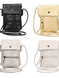 Informeel - Schoudertas / Portefeuille / Kaart/pasjeshouder / Muntenportemonnee / Mobile Phone Bag - Meerkleurig - PU - Unisex