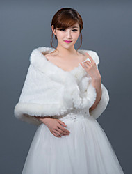 Winter Wedding Robe Coat Bridesmaid Dresses Shawl
