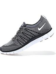 Nike Flyknit Lunarlon / donne / pattini correnti degli uomini atletici materiali scarpe personalizzate best seller grigio
