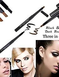 Fashion 3 Colors Makeup Cosmetic Eye Liner Eyebrow Pencil Beauty Tools 1PCS