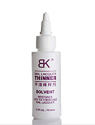 1PCS Authentic BK Nail Polish thinners or diluents (70ML) new product easy to use Dripper nail polish dry saviors